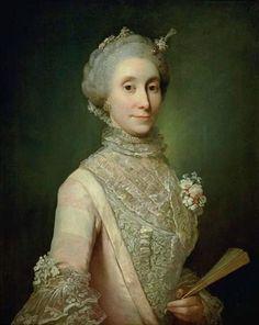 Jens Juel, Presumed Portrait of Countess Caroline Schimmelmann, 1768, 77,5 x 62, Statens Museum for Kunst