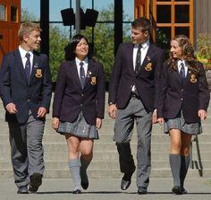 Generic US Private School Uniform