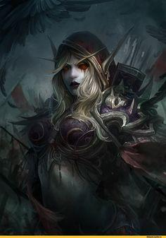 Sylvanas-Windrunner-Warcraft-Blizzard-фэндомы-3734878.jpeg (1000×1414)