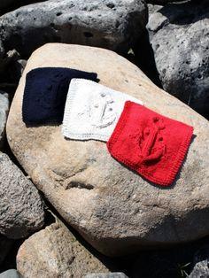 Anchors Away Dishcloth | Yarn | Free Knitting Patterns | Crochet Patterns | Yarnspirations