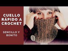 YouTube Crochet Gloves, Crochet Scarves, Knit Crochet, Bandana, Crochet Neck Warmer, Crochet Videos, Crochet Designs, Fingerless Gloves, Arm Warmers