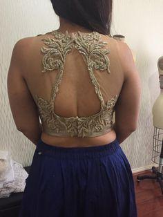 Blouse Patterns, Blouse Designs, Dream Shower, Lehenga Blouse, Sexy Blouse, Indian Fashion, Sarees, Backless, Blouses