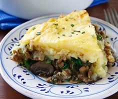 Lentil and Mushroom Shepherd's Pie | 30 Yummy Vegetarian Takes On Classic Meat Dishes