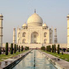 The stately Taj Mahal, Agra. India. Photo courtesy of rnroundwego on Instagram.