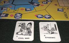 Civilization, partida en curso. Civilization - from Avalon Hill, (seguramente el mejor juego que conozco) 2 a 7 jugadores. A partir de 12 años (yo diría 14).  Tiempo de partida, 360 min. (¡seis horas! y sí, puedes alcanzarlas).