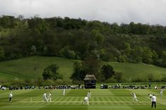 Wormsley, Bucks. Paul Getty's own ground, created on his estate. It took an American to create something quintissentially English. Mike Selvey