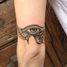 of horus tattoo Leg Tattoos Women, Elbow Tattoos, 13 Tattoos, Body Art Tattoos, Sleeve Tattoos, Eye Of Ra Tattoo, Third Eye Tattoos, All Seeing Eye Tattoo, Egyptian Eye Tattoos