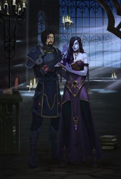 Robyn and Nelany by Noir-snow on DeviantArt Gargoyles Characters, Dnd Characters, Fantasy Characters, World Of Warcraft Paladin, World Of Warcraft Characters, Avatar, Blood Elf, Warcraft Art, Heroes Of The Storm