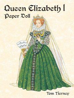 Queen Elizabeth I Paper Doll (Paper Dolls) von Tom Tierney http://www.amazon.de/dp/0486421929/ref=cm_sw_r_pi_dp_t8WJvb1QSM0CE