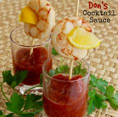 Perfect shrimp cocktail sauce? Look no further because you've found it in Don's Cocktail Sauce. #AllrecipesAllstars #MyAllrecipes #AllrecipesFaceless #ShrimpCocktailSauce #appetizer #shrimp