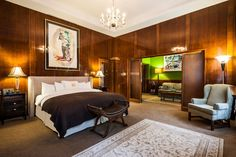 One of the favorites - King Suite - LHotel Montreal. Every room is unique. Dare to be different. http://www.lhotelmontreal.com/default-en.html