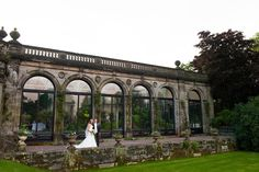 Contemporary and creative wedding photography at Sandon Hall in Staffordshire by Stafford Wedding Photographer Barry James