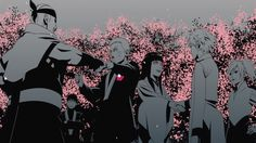 Naruto and Hinata's wedding - The Jinchurikki's coming to congratulate the happy couple.
