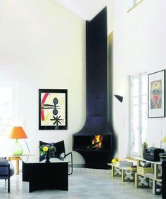 Corner Fireplace Ideas - Warming up your room with some corner fireplace ideas for your house. Some people might not feel comfortable about placing the fireplace area in the corner because it's not the most common design of a fireplace. Corner Fireplace Mantels, Corner Fireplace Tv Stand, Corner Electric Fireplace, Metal Fireplace, Fireplace Inserts, Modern Fireplace, Fireplace Design, Fireplace Ideas, Corner Fireplace Layout
