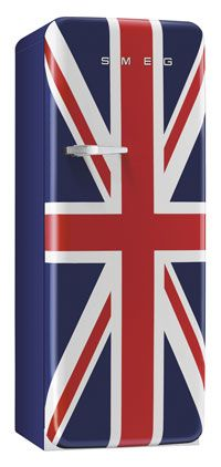 Frigo Smeg Union Jack, style années 50, la perfection!