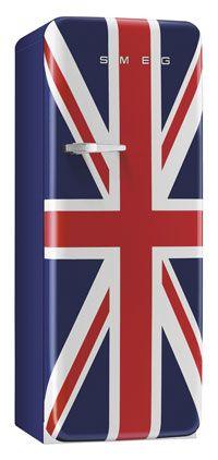 Frigo Smeg Union Jack, style années 50, la perfection!