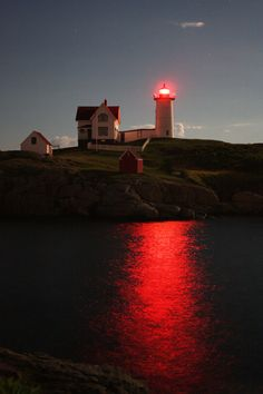 The Cape Neddick Light Station, a.k.a. Nubble Light in York, Maine Photo/Art by Christy Harrison