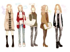 Girl's Everyday Outfits