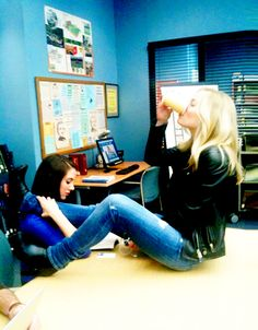 Image discovered by Ness. Find images and videos about alison brie and gillian jacobs on We Heart It - the app to get lost in what you love. Community Tv Series, The Five Year Engagement, Gillian Jacob, Recent Movies, Alison Brie, Scene Photo, American Actress, I Movie, Actors & Actresses