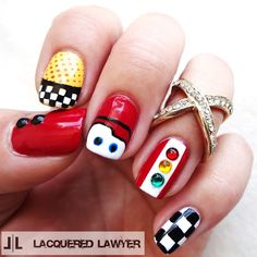 Lacquered Lawyer | Nail Art Blog: Cars