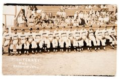 This is a real photo post card from 1943. It features a Baseball team from Monterey, Mexico that happens to include soon-to-be Major Leaguer and Brooklyn Dodger Roy Campanella. He is seated on the very far left.