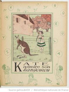 Alphabet en images : 31 gravures en couleur / par Marie-Madeleine Franc-Nohain - 17