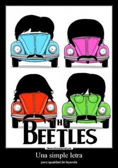 carteles beatles beatles the chuck norris beetle escarabajo musica buena desmotivaciones