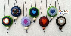 felt necklaces