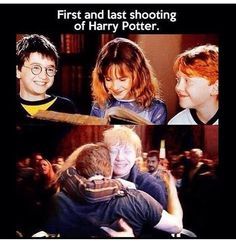 First and last shooting of Harry Potter. You may cry. : First and last shooting of Harry Potter. You may cry. More memes, funny videos and pics on Harry Potter World, Mundo Harry Potter, Harry Potter Cast, Harry Potter Love, Harry Potter Memes, Hogwarts, Fans D'harry Potter, I Love Cinema, Yer A Wizard Harry