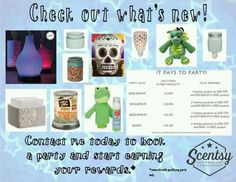 New products!! Available September 1st...... www.randiogden.scentsy.us