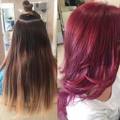 #Indola colours #red violet #longhair #newhead