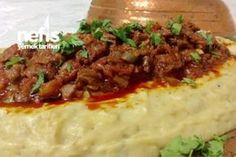 Wonderful Hünkar Liked - Delicious Meets Healthy: Quick and Healthy Wholesome Recipes Turkish Recipes, Italian Recipes, Ethnic Recipes, Iftar, Casserole Recipes, Meat Recipes, Kebab, Turkish Kitchen, Fish And Meat