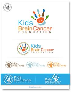 Logo design for Kids Brain Cancer Foundation by Rosislawa