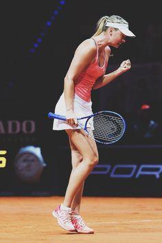 Maria Sharapova, Stuttgart 2015