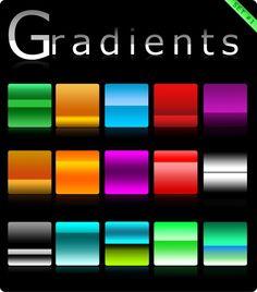 Gradients set