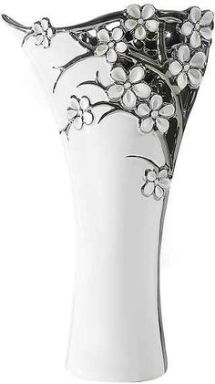 Vază ceramică AZALIA 23x9x38 cm