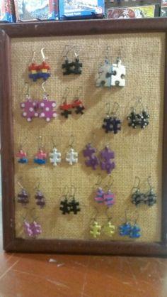 #Pendientes de una #pieza de #puzzle en Puzzlemanía.net