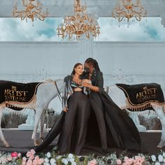 Fashion designer and serial entrepreneur, Toyin Lawani (Tiannah) is set to wed her fiance, Segun Adebayo. Check out pictures from their #TheArtistandHisMuse2021 pre-wedding shoot on LoveWeddingsNG.com