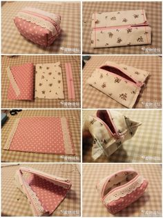 How to shorten zippers for pouches and bags Patchwork- How to shorten zippers fo. - How to shorten zippers for pouches and bags Patchwork- How to shorten zippers for pouches and bags - Sewing Hacks, Sewing Tutorials, Sewing Crafts, Sewing Projects, Sewing Tips, Fabric Crafts, Handbag Tutorial, Zipper Pouch Tutorial, Bag Patterns To Sew