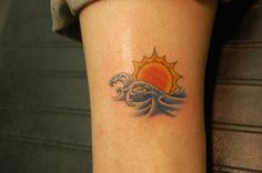 sunset tattoo | Sunset tattoos ideas images