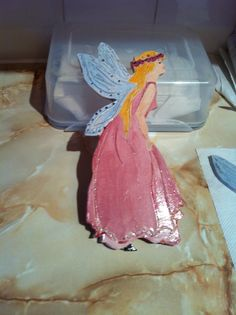 Ceramic Fairy made at Pottery Class