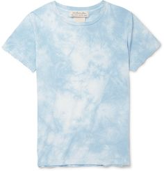 Remi Relief - Tie-Dyed Cotton-Jersey T-Shirt MR PORTER