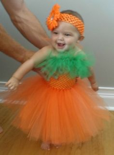 Pumpkin tutu Halloween Costume by ericabilezikjian on Etsy, $35.00