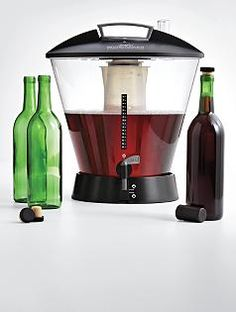 Wine-making kit. I don't know that I'd do it at home, but I REALLY want to go somewhere and make/bottle my own.