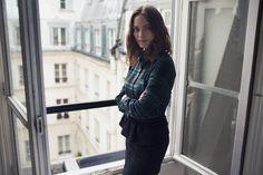 Chemise Ulysse à carreaux vertes et noire || Balzac Paris