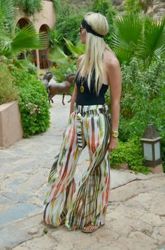 McKenna Bleu: Big Pants, Don't Care on Inspirationde Vacation Outfits, Summer Outfits, Cute Outfits, Vacation Fashion, Vacation Wear, Mckenna Bleu, Island Wear, Look Fashion, Hippie Fashion