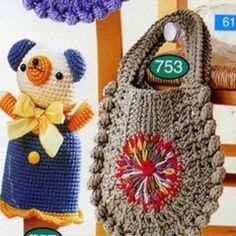 Patrón Bolsos a Crochet. Straw Bag, Crochet Hats, Bags, Fashion, Half Moons, Handbag Patterns, Boleros, Purses, Knitting Hats
