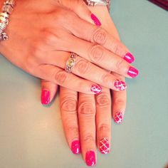 Nails with a touch of bling!