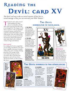 Reading the Devil card
