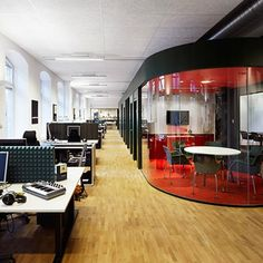 cool office space | Cool Workplaces - Great Office Space / Propellerhead Software in ...